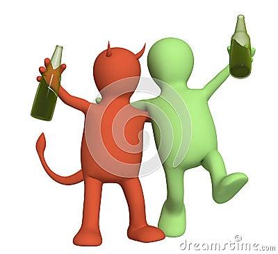 Die christliche Behandlung des Alkoholismus