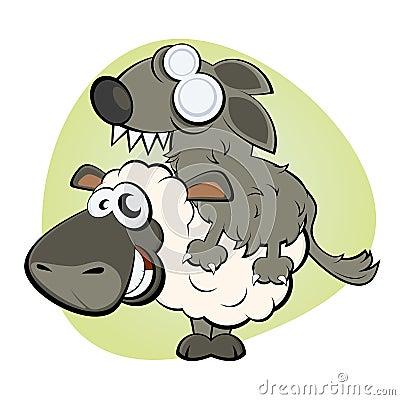 Schafe in der Kleidung des Wolfs