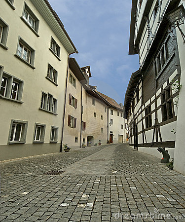 Schaffhausen is a city in northern Switzerland