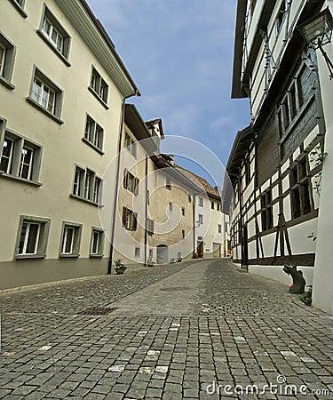Schaffhausen is a city in northern Switzerland