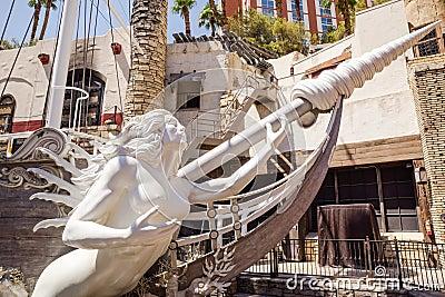 Hotel und Kasino des Streifens in Las Vegas
