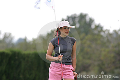 Scheaffer, Ladies European Tour, Castelllon, 2006 Editorial Stock Image