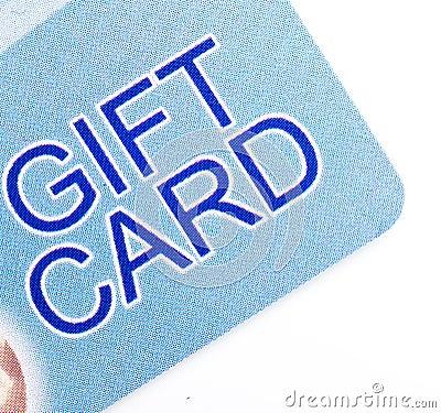 Scheda del regalo