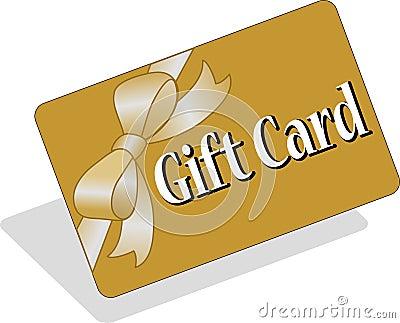 Scheda/ENV del regalo