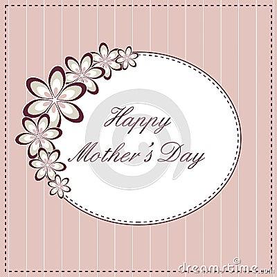 Scheda felice di giorno della madre