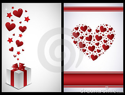Schede del biglietto di S. Valentino