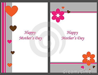 Schede felici di giorno della madre