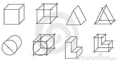 Scheme of geometrical objects