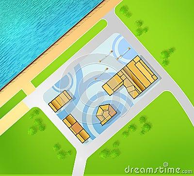 Scheme of recreational area