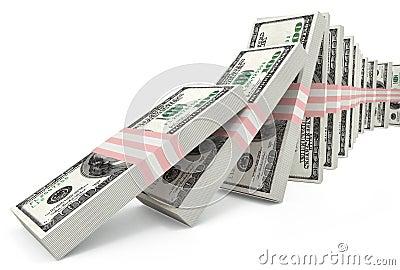Schending van stabiliteit van dollar