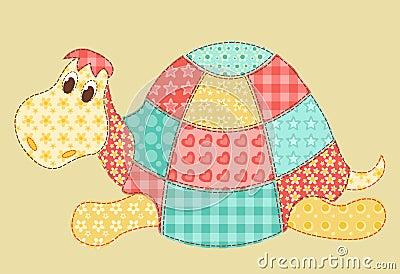 Schildkröte-Patchwork