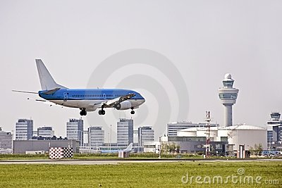 Schiphol airport in Holland