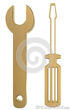 Schlüssel und Fahrer
