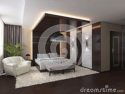 Schlafzimmer Modern Braun Boxspringbett Babblepath Badezimmer
