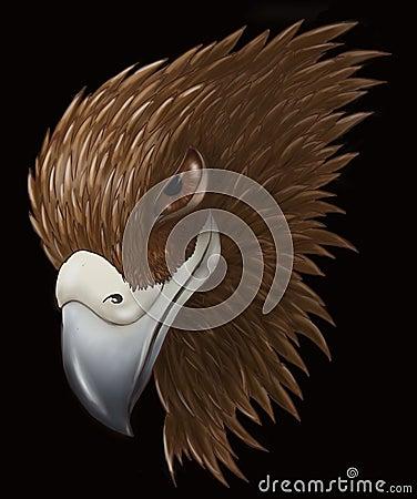 Schlauer Adler