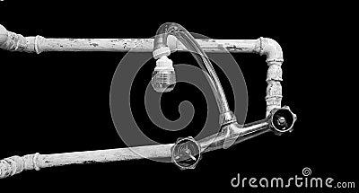 Schlechte Rohrleitung