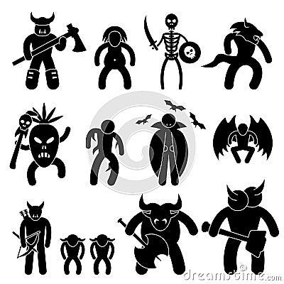 Schlechtes altes Krieger-Zeichen