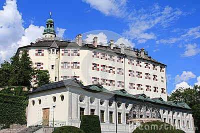 Schloss Ambras, Castle on the hill in Innsbruck