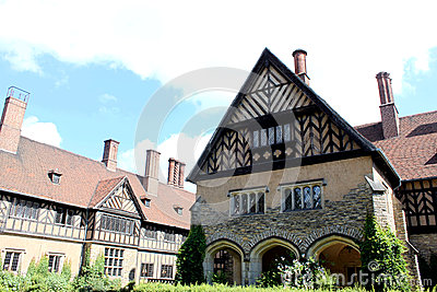 Schloss Cecilienhof, the place of Potsdam Conferen