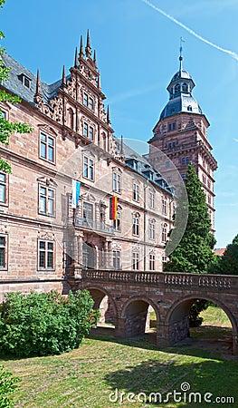 Schloss Johannisburg Drawbridge