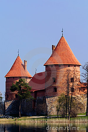 Schloss mit Wasser