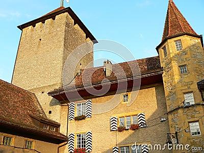 Schloss, Murten ( Schweiz )