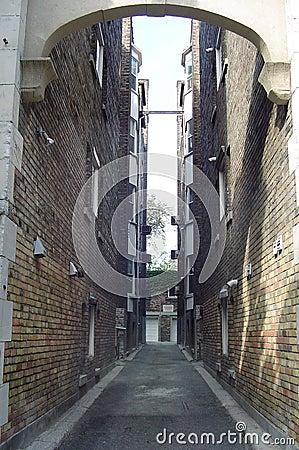 Schmale Straße
