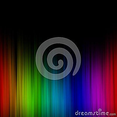 Schmelzender Regenbogen