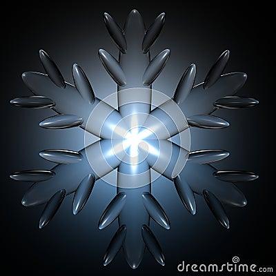 Schnee-Flocke