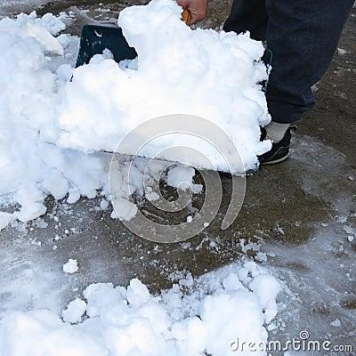 Schnee-Schaufel