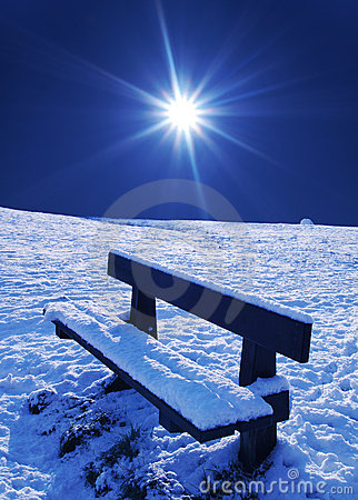 Schneeszene