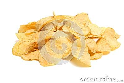 Schneidet Kartoffel in Stücke