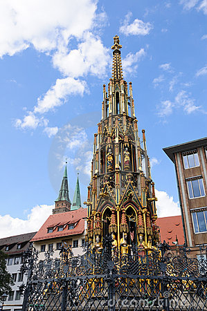 Schöner Brunnen - Nürnberg/Nuremberg, Germany