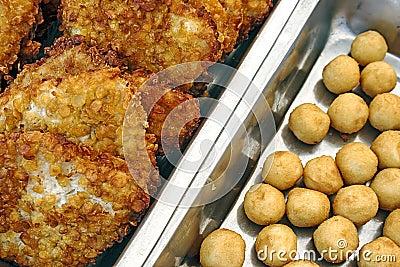 Schnitzel and potatoes