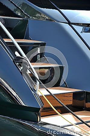 Schodowy jacht