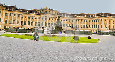 Schoenbrunn Palace, Vienna,Austria. Editorial Photography