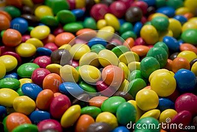 Schokoladen-Süßigkeiten
