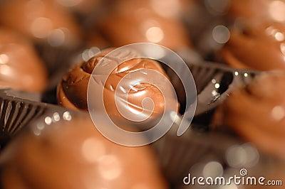 Schokoladennahaufnahme