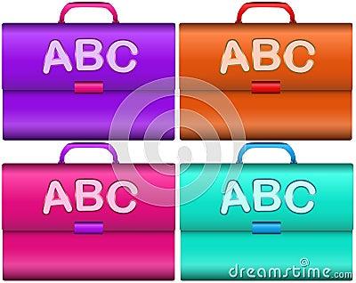 Scholar briefcases