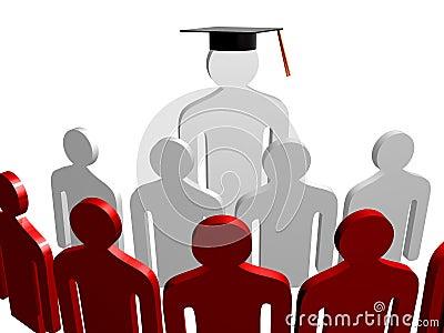 Scholar leader icon