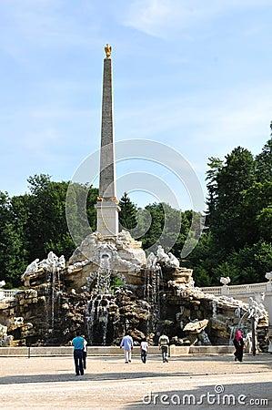 Schonbrunn Gardens, Vienna Editorial Stock Photo