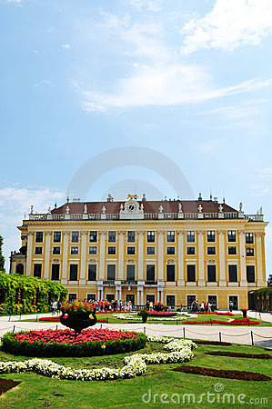 Schonbrunn Palace, Vienna Editorial Photography
