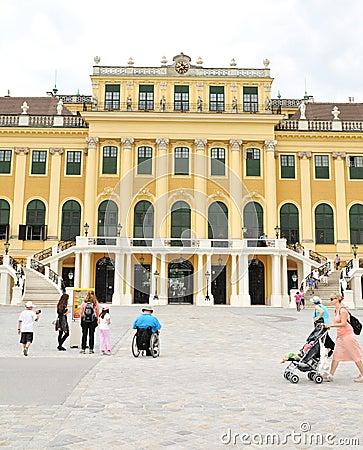 Schonbrunn Palace, Vienna Editorial Image