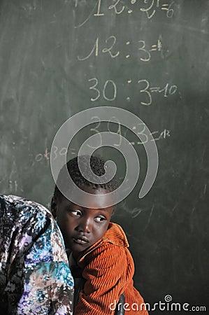 School Redactionele Stock Afbeelding