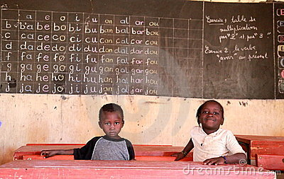 School in Africa Editorial Image