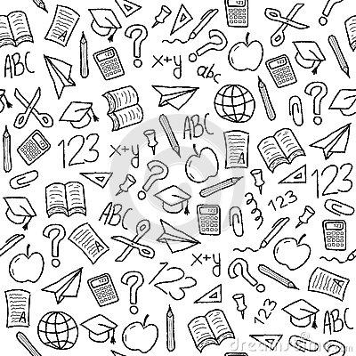electrical plan icons school background stock vector image 42790960  school background stock vector image 42790960