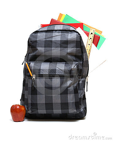 Free School Backpack Stock Photo - 15539960