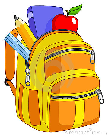 Free School Backpack Royalty Free Stock Photos - 20315028