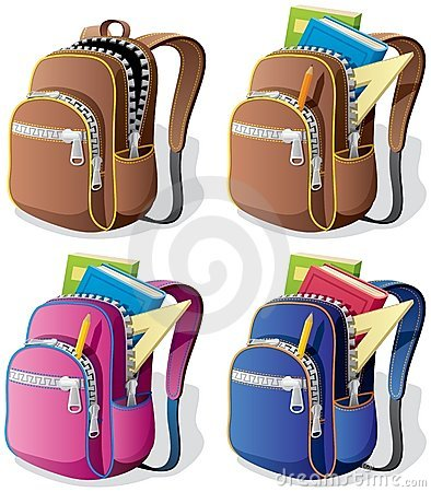 Free School Backpack Royalty Free Stock Photography - 20513937