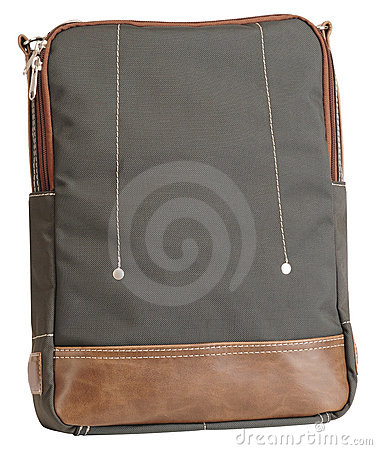 School bag. Isolated